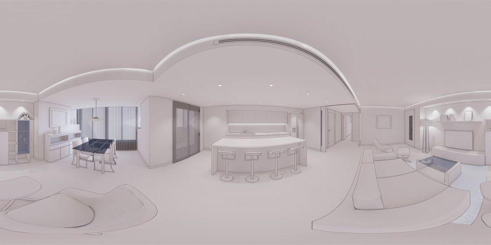Decoración Virtual de Salón